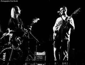 Tez Skachill with band Grim Architect live @ The Dry Bar, Manchester, 2012. Photography taken by Paul Booth