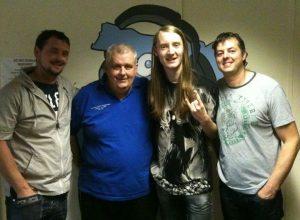Tez Skachill & Grim Architect on Salford City Radio with DJ Joe Barnwell, 2012.