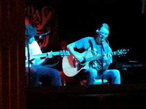Alex Tadros & Tez Skachill performing @ the Night N Day Cafe - 09.07.14