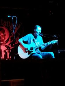 Tez Skachill performing @ the Night N Day Cafe - 09.07.14