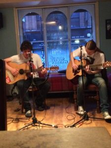 Tez Skachill & Alex Tadros performing @ The Bay Horse, NQ on 25.06.14