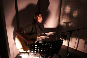 Tez Skachill - Recording session @ Blueprint Studios, Manchester, UK 2010