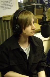 Tez Skachill on Salford City Radio, 2010