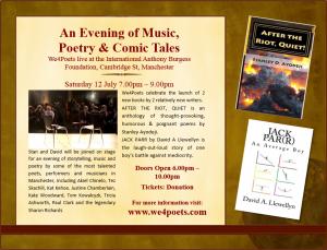 we4poets Event Flyer