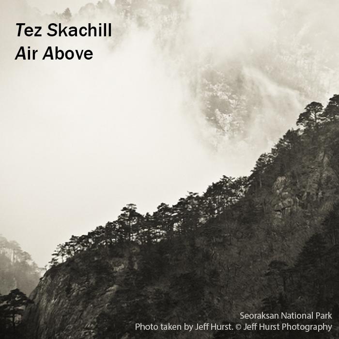 Tez Skachill - Air Above Cover. Seoraksan Nation Park. Photo taken by Jeff Hurst Photography