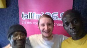 DJ Terry, Tez & Stan on ALL FM 96.9. 26.04.15