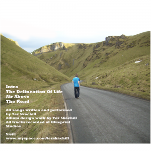 Tez Skachill The Road EP 2010 Cover