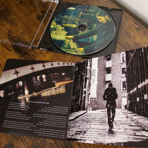 Tez Skachill - Fragments - EP CD Booklet