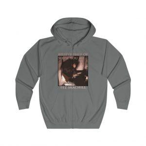 Tez Skachill - Believe Half Of What You See - Zip Up Hoodie grey