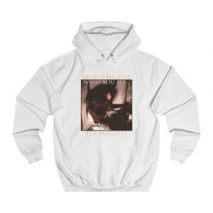 Tez Skachill - Believe Half Of What You See album hoodie white